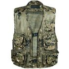 New Fashion Gifts Men Camouflage Fishing Hunting Vest Cargo Outdoor Game Outwear