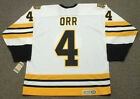 BOBBY ORR Boston Bruins 1975 CCM Vintage Throwback Home NHL Hockey Jersey