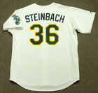 TERRY STEINBACH Oakland Athletics 1989 Majestic Throwback Home Baseball Jersey on Ebay