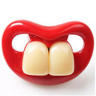 Baby Funny Dummy Prank Pacifier Novelty Teeth Children Child Soother Nipple