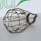 Vintage Pendant Trouble Light Bulb Guard Wire Cage Ceiling Hanging Lampshade