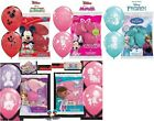 """Qualatex 6 Licensed Character 12"""" Helium Quality  Latex Balloons Assorted Design"""