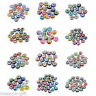 10PCs Mixed European Charms Spacer Beads Jewelry Making Diy Jewelry M12450