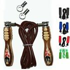 3X Sports Vitesse Corde Réglable Cuir Corde A Sauter Skipping Rope Boxe Fitness