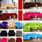 Universal 1 2 3 4 Seater Slip Cover Sofa Couch Settee Armchair Stretch Protector