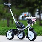 New Baby Kids Bicycle Trike Pushchair Toddler Bike Tricycle Outdoor Ride-On Toy