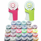 MOTEX Embossing Label Maker E-303 + 4 Rolls Various Colour Tapes Free Shipping