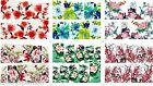 Nail Art Water Decals Transfers Wraps Oriental Japanese Flow