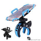 Degree Mountain Bicycle Bike Mount Holder PC+PVC Stands For iPhone Phone