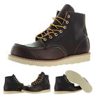 "Red Wing Heritage Men's 6"" Moc Carpenter Work Boots US Sizes"