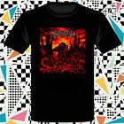 New Krisiun The Great Execution Death Metal Band Men's Black T-Shirt Size S-3XL