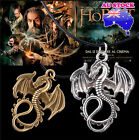 The Hobbit The Desolation of Smaug Dragon Pendant Necklace