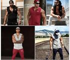 Aesthetic Revolution GYM Fitness Waistcoat Zipper Hoodies Sweatshirt Hooded Tops