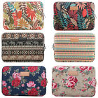 10 ~ 15 inch Laptop Canvas Sleeve Bag Notebook PC Case Pouch For Sony Dell Acer