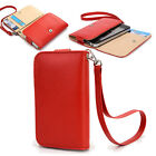 Small Simple Protective Wallet Case Clutch Cover for Smart-Phones ESAMWL-4