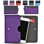 Womens Protective Wallet Case Cover for Smart Cell Phones by KroO ESDC-11 MD