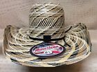 American Hat 20X  Multicolor Cool Hand Luke Rodeo Western Cowboy Straw Hat