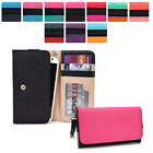 Protective Wallet Case Clutch Cover & Organizer for Smart-Phones KroO ESMT2