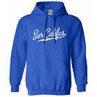 Sur Califas Script & Tail HOODIE - Hooded Sweatshirt - All Sizes & Colors