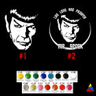 Spock Vinyl Decal Sticker Star Trek Movie Space Adventure Design USA Seller on eBay