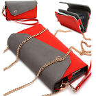 Womens Link Wallet Case & Crossbody Clutch Cover for Smart Cell Phones CRWL2