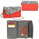 Lady Link Wallet Case & Crossbody Clutch Cover for Smart-Cell-Phones CRSL2
