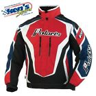 POLARIS Men's Red/Blue RETRO FXR® THROTTLE Winter Snowmobile Jacket 2863051_