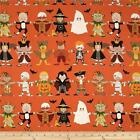 YOU AND ME KIDS ORANGE ALEXANDER HENRY QUILT SEWING FABRIC ** Free Oz Post ***