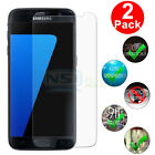 2 PCS Premium Tempered Glass Screen Protector Film Guard For Samsung Galaxy S7