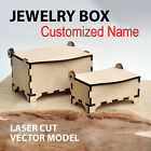 Customised Wooden Jewellery Idea Gift Storage Box Armoire Watch Case Home Decor