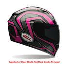 Bell Qualifier Machine Black Pink Motorcycle Helmet All Sizes DOT Road Full Face