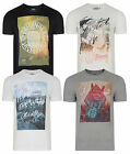 Jack & Jones Originals T-shirt New Mens Crew Neck ONE Graphic Print Cotton Tee