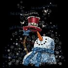Holiday Winter Snowman T Shirt  All Sizes (1009)
