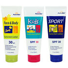 Pure-aid Screenscreen Lotion 30 SPF - Face & Body, Kids, Sports