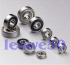 Rubber Sealed and Metal Shielded Metric Ball Bearing Bearings Various Sizes