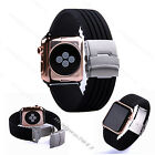 20 22mm Silicone Wristwatch  Bands replace Strap For apple watch Iwatch 38/42mm