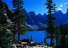 Art print POSTER Moraine Lake and Canadian Rockies