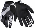 Shift Racing Black/White Black Label Pro Mainline Dirt Bike Gloves MX ATV BMX