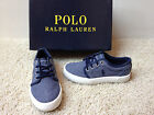NEW POLO RALPH LAUREN Navy Ethan Low Casual Shoes Boys 12 NWOB Free US Ship