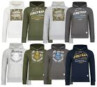 Firetrap New Men's Casual Zip & Overhead Hooded Sweatshirt Tops Hoodie