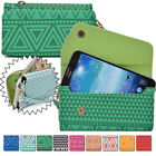 Convertible Aztec Smart-Phone Wallet Case Cover & Clutch X6UC1