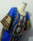 Dashiki Long Maxi Ethnic Vintage Cotton African Kaftans Tribal Traditional Dress