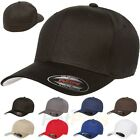 Kyпить V-Flexfit Cotton Twill Baseball Cap Fitted Flex Fit Ballcap Plain Blank Hat 5001 на еВаy.соm