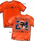 Detroit Tigers Miguel Cabrera SILHOUETTE/ NUMBER  T- Shirt  - Adult Sizes  New