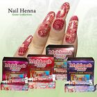 Nail Henna Tubes For Beautiful Nail Art and Finger Tips Ready to Use Henna Tubes