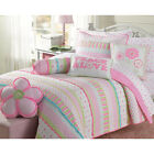 Full Size Bedding For Girls Teen Daybed Comforter Bedspreads  Quilts Sets Pink
