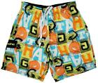 Boys Gotcha Mesh Lined Swim Bermuda Style Beach Shorts 8 to 14 Years