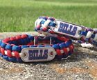 Buffalo Bills Paracord Bracelet w/ NFL Dog Tag and Metal Buckle. AWESOME!!! on eBay