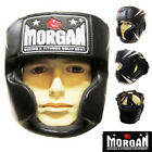 MORGAN v2 FULL FACE BOXING HEAD GUARD - head gear sparring chin and cheek