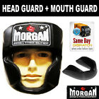 MORGAN v2 FULL FACE BOXING HEAD GUARD + MOUTH GUARD - sparring helmet punch